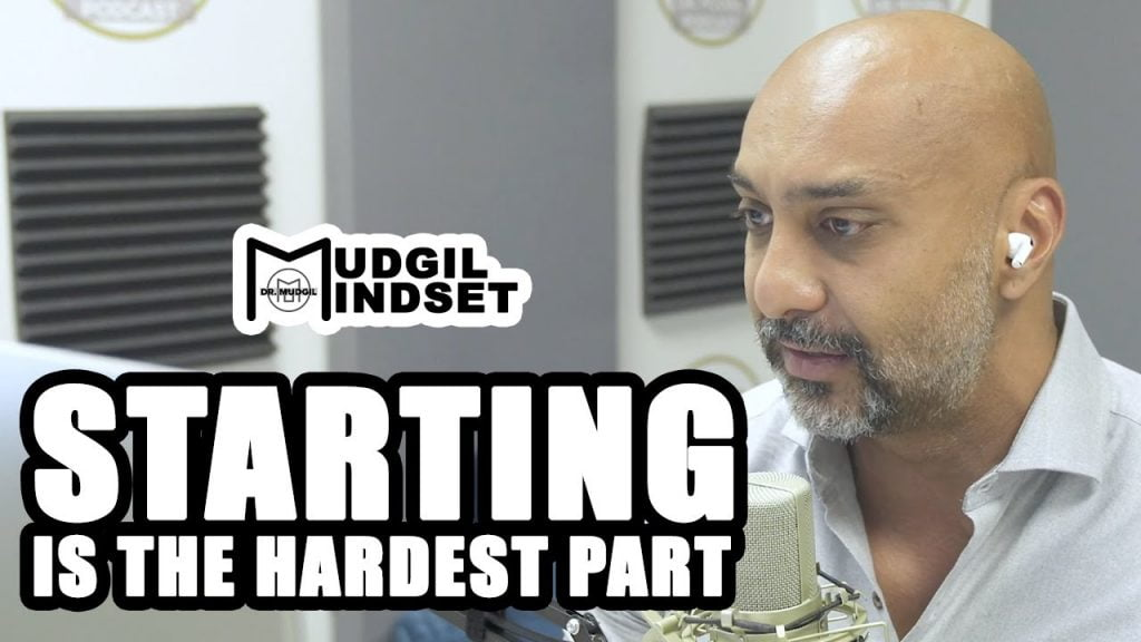 STARTING IS THE HARDEST PART!