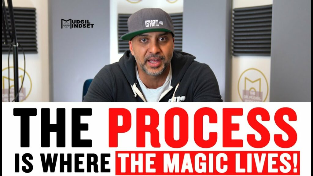 THE PROCESS IS WHERE THE MAGIC LIVES!